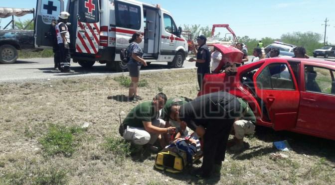 #ACCIDENTE EN CERRO PRIETO.