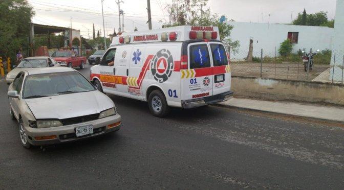 #ACCIDENTE JOVEN DERRAPA DE SU MOTOCICLETA.