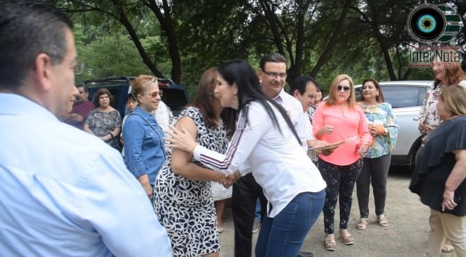 INVITAN ALCALDESA PATRICIA SALAZAR A INAUGURACIÓN DE CASA DEL JUBILADO DELEGACIÓN DE MAESTROS EN ALLENDE N.L.
