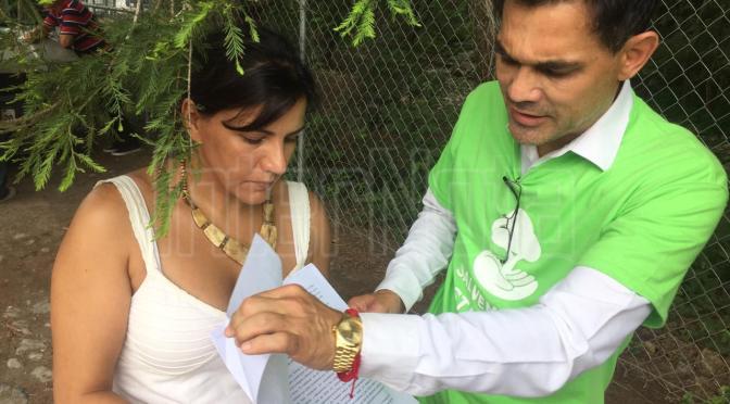 RECAUDAN FIRMAS PARA SALVAR EL PARQUE NATURAL LA ESTANZUELA