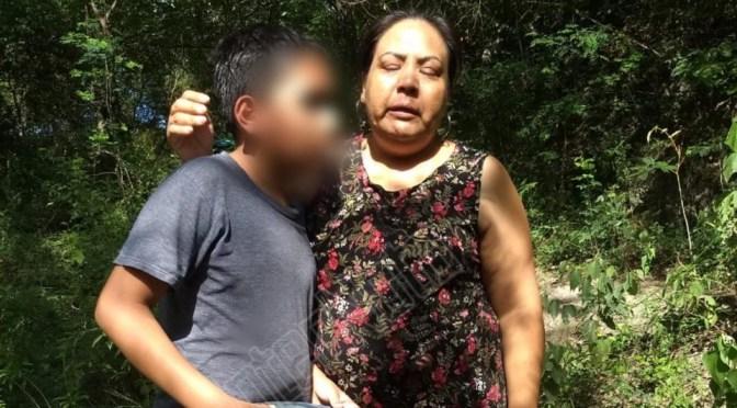 LOCALIZAN SANO Y SALVO A MENOR DESAPARECIDO.