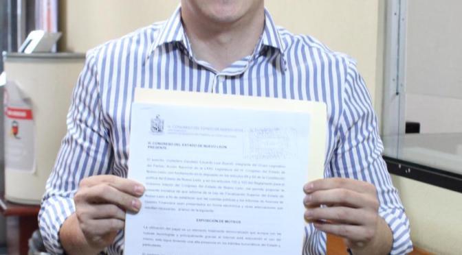 DIPUTADO EDUARDO LEAL PROPONE TRÁMITES DIGITALES