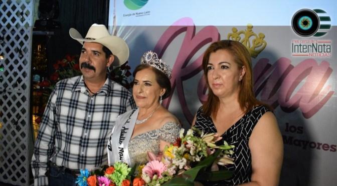 HILDA GUADALUPE MORALES TORRES REINA DEL ADULTO MAYOR 2019 EN CADEREYTA, JIMÉNEZ N.L