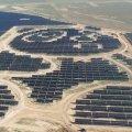 CHINA HA CONSTRUIDO UNA PLANTA DE ENERGÍA SOLAR CON FORMA DE OSO PANDA