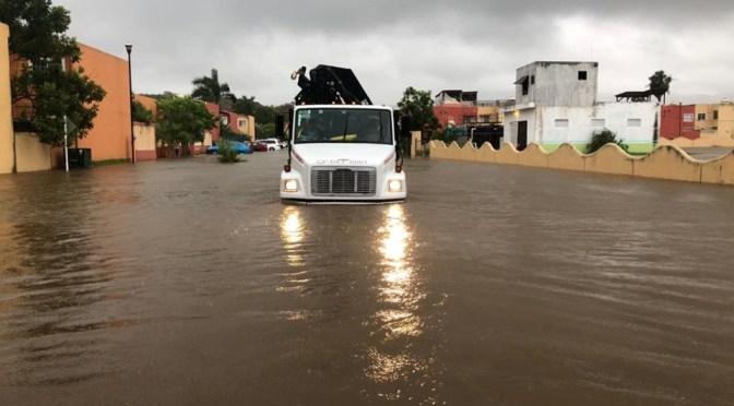 La #Conagua exhorta a la población a mantenerse alerta a la información en torno a la evolución de #Narda