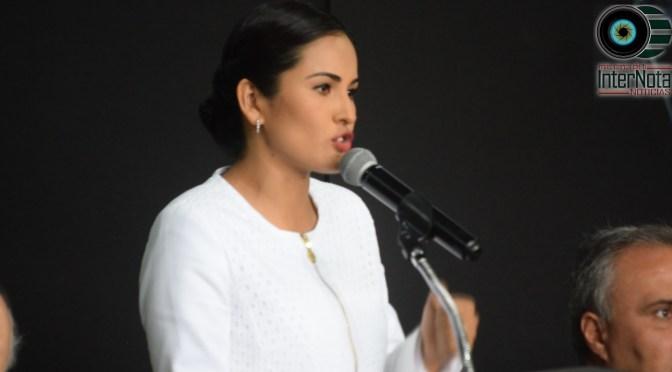 ALCALDESA DE GALEANA N.L. ALEJANDRA RAMÍREZ RINDE SU PRIMER INFORME DE GOBIERNO