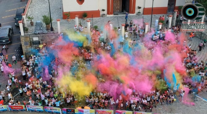 #SANTIAGO MÁS DE 1500 PARTICIPANTES EN MAGIC COLOR RUN 5K 2019