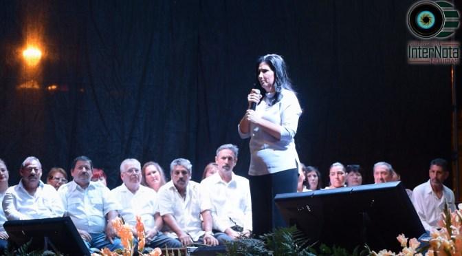 ALCALDESA DE ALLENDE, N.L. PATRICIA SALAZAR RINDE SU PRIMER INFORME DE GOBIERNO