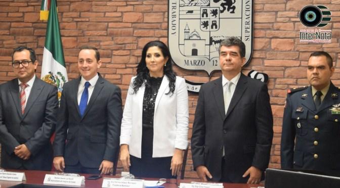 REALIZA PATRICIA SALAZAR ENTREGA DEL PRIMER INFORME DE GOBIERNO EN SESIÓN EXTRAORDINARIA DE CABILDO DEL MUNICIPIO DE ALLENDE, N.L