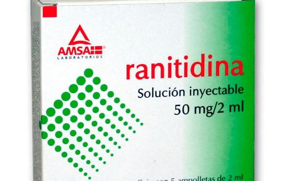 COFEPRIS PIDE SUSPENDER EL USO DE RANITIDINA; CONTIENE CANCERÍGENO.