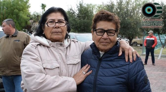 DESPUÉS DE MÁS DE 60 AÑOS DOÑA JUANA SE REÚNE DE NUEVO CON SU FAMILIA EN EJIDO LAS ANACUITAS, GRAL. TERÁN N.L.