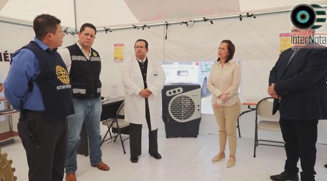 HABILITA CRISTINA DÍAZ PRIMER MÓDULO DE ORIENTACIÓN Y ATENCIÓN COVID-19