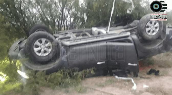 FUERTE ACCIDENTE SUFRE DIPUTADO LALO LEAL