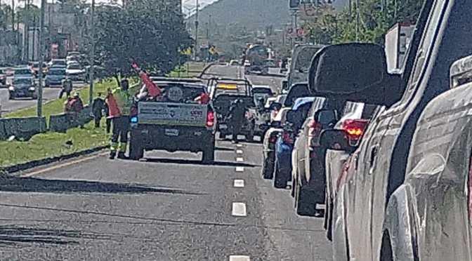 #PRECAUCIÓN FUERTE ACCIDENTE EN LOS CRISTALES.