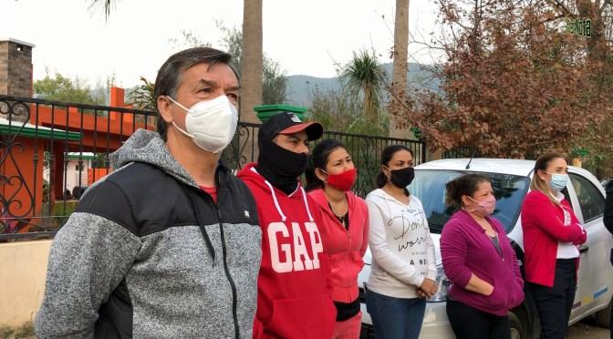 REALIZAN INAUGURACIÓN DE LÍNEA DE AGUA POTABLE EN LA CALLE MARTÍN ZERTUCHE EN LA COMUNIDAD DE SAN PEDRO.