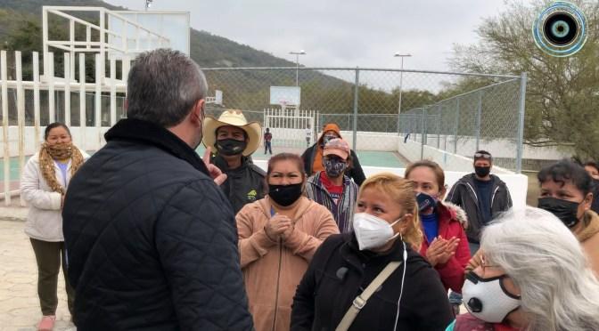 117 FAMILIAS HOY TIENEN ESCRITURAS EN LA COLONIA HECTOR CABALLERO, SANTIAGO, N.L.