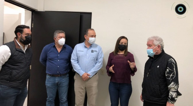 INAUGURAN NUEVAS INSTALACIONES DEL SINDICATO ÚNICO DE TRABAJADORES AL SERVICIO DEL MUNICIPIO DE SANTIAGO.