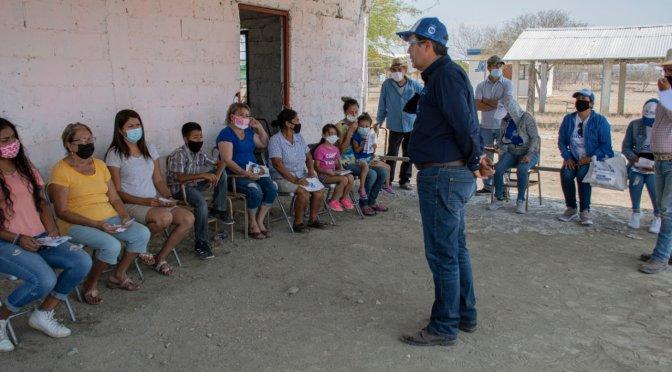 VISITA CHECO ELIZONDO COMUNIDADES DE LINARES NL