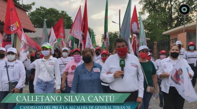 CALLETANO SILVA CANTÚ, CANDIDATO A LA ALCALDÍA DE GRAL. TERÁN, N.L. POR EL PRI, CONTINÚA RECOGIENDO INQUIETUDES, Y DANDO A CONOCER SUS PROYECTOS DEL SERVICIO MÉDICO LAS 24/H Y EL SISTEMA DE SEGURIDAD