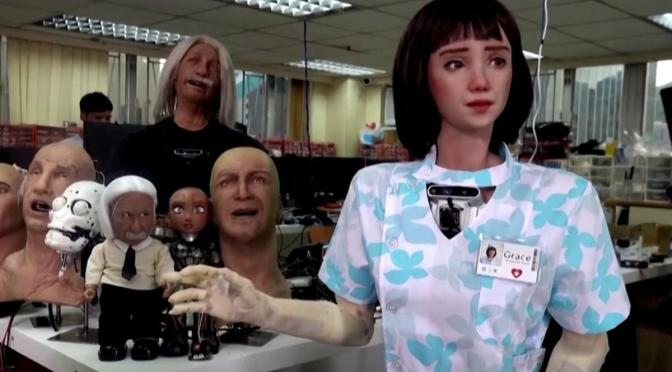GRACE, PRIMERA ENFERMERA ROBOT QUE ATENDERÁ PACIENTES COVID EN HONG KONG