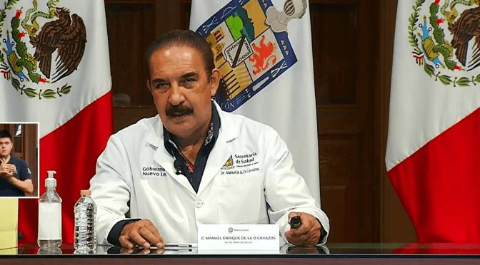 REPORTA NUEVO LEÓN MIL 339 CASOS NUEVOS DE COVID; ALERTAN POR SATURACIÓN EN HOSPITALES.