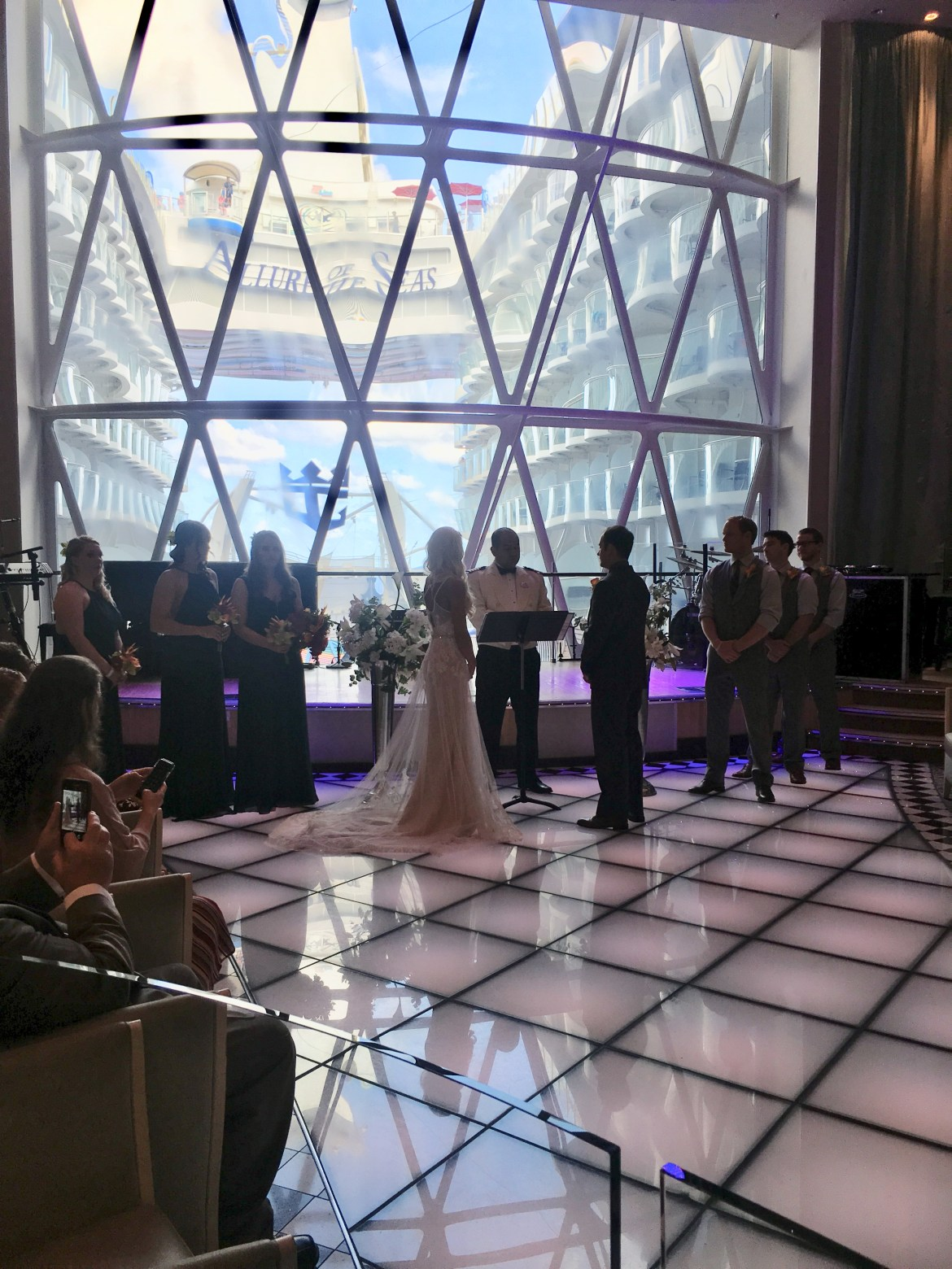 Here is some key information you may want to consider before getting married on a cruise.