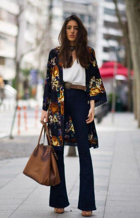 1) Pair Them with a Kimono