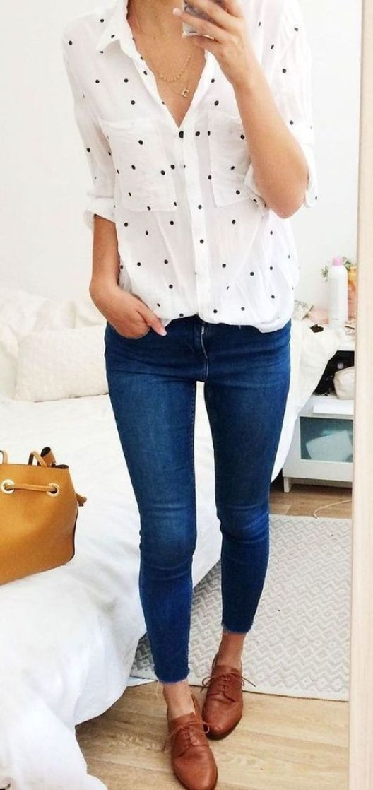 Check out these outfits with polka dots!