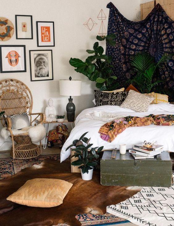 15 Bohemian Bedroom Ideas On A Budget on Boho Bedroom Ideas On A Budget  id=24321