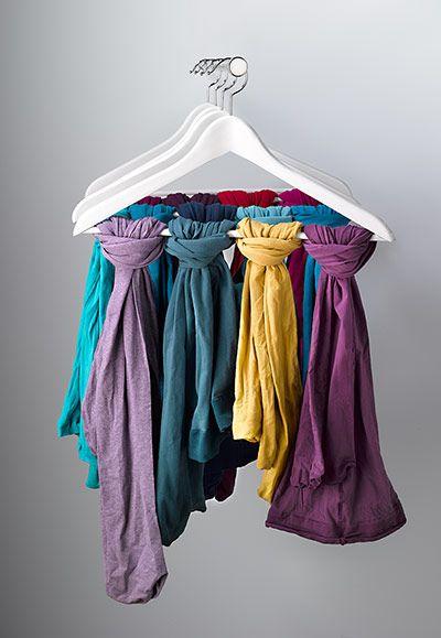 scarf hanging