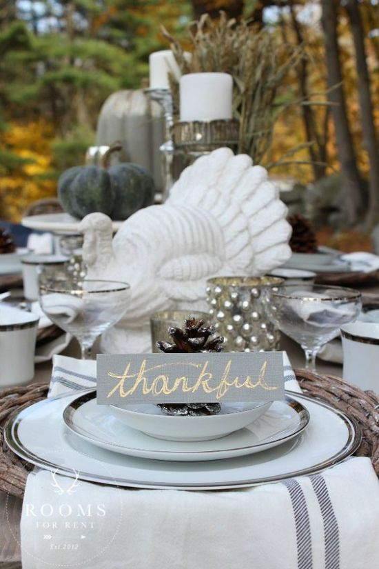 25 Thanksgiving Table Setting Ideas Your Guests Will Love