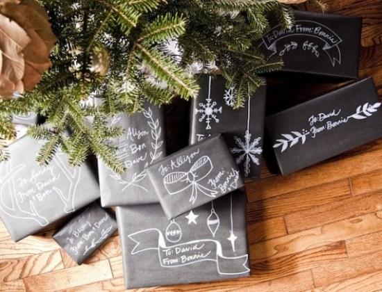 DIY Christmas Wrapping Ideas
