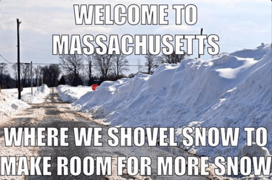 You Know You Are From A Small Town In Massachusetts When...