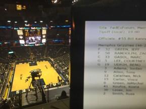 Memphis Grizzlies Basketball Game