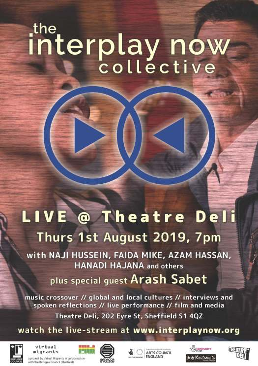Interplay Now Collective live at Theatre Deli poster