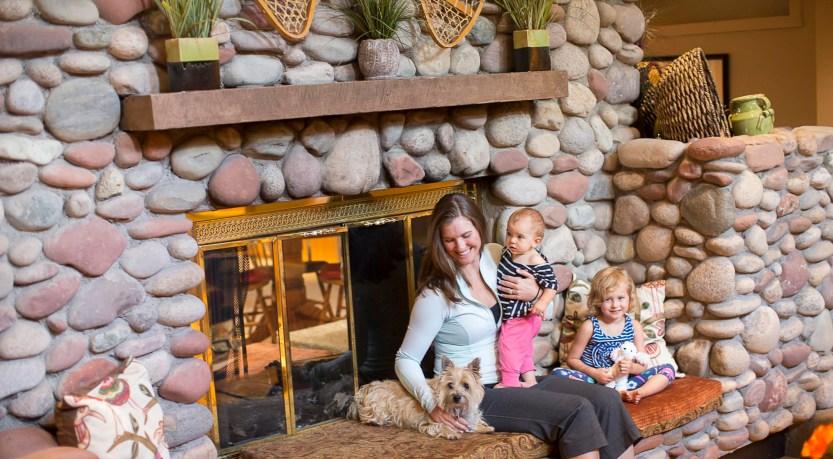 Aspen Mountain Lodge - fireplace