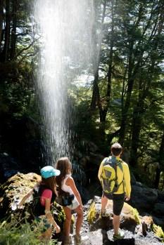 Caminhada - Chillán no Verão