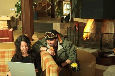Hotel Valle Nevado - Espaço comum