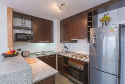 Valle Blanco - 2 dormitórios - cozinha