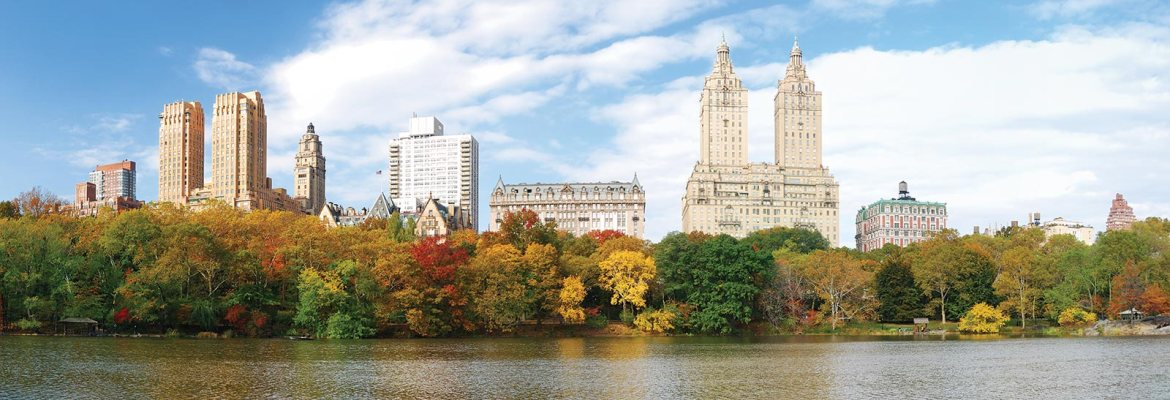 New York, vista do Central Park