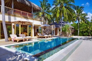 Two Bedroom Ocean Beach Villa with Pool exterior