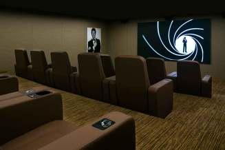 Sir Roger Moore Private Cinema