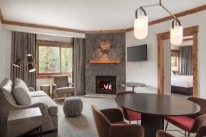 Corner Junior Timberline Suite Living Space