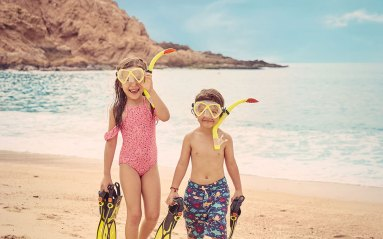 Montage-LosCabos-kids-beach-snorkeling