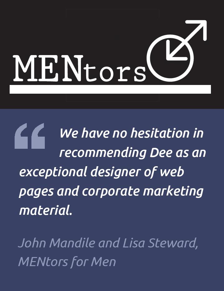 Testimonial – MENtors Website