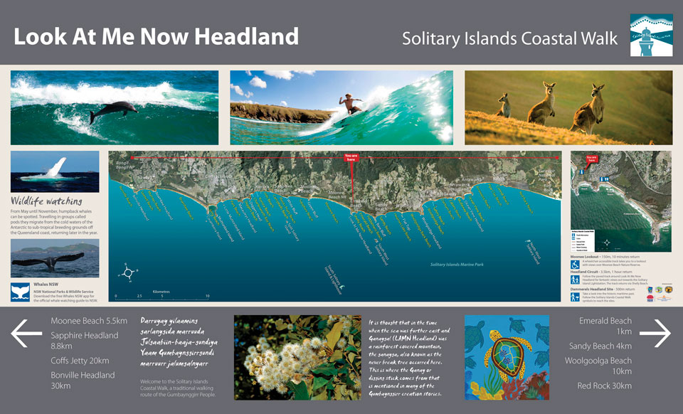 Solitary Islands Coastal Walk - Wayfinding