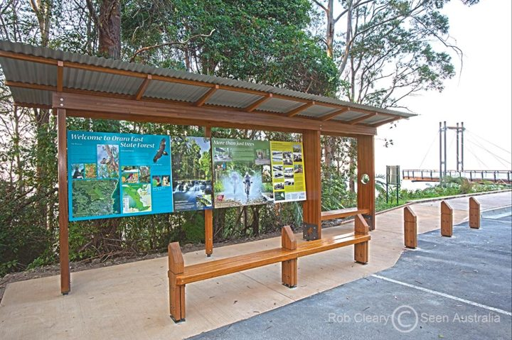 Sealy Lookout Tourism Signage