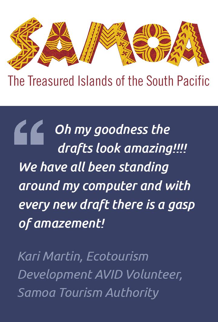 Testimonial – Samoan Tourism Authority