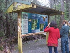 Mumbulla Falls Cultural Heritage Sign