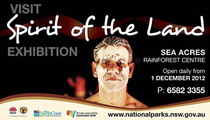 Spirit of the Land Exhibition Billboard